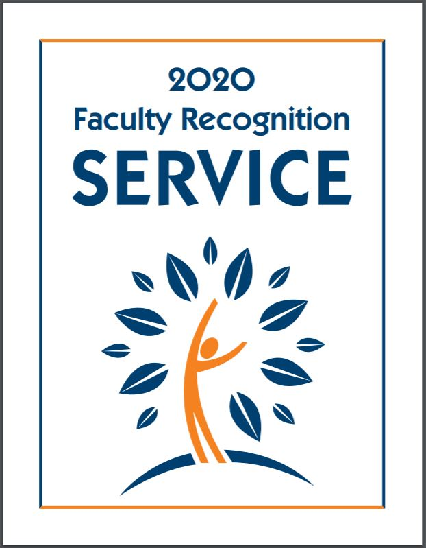 2020 Faculty Recognition Book Cover